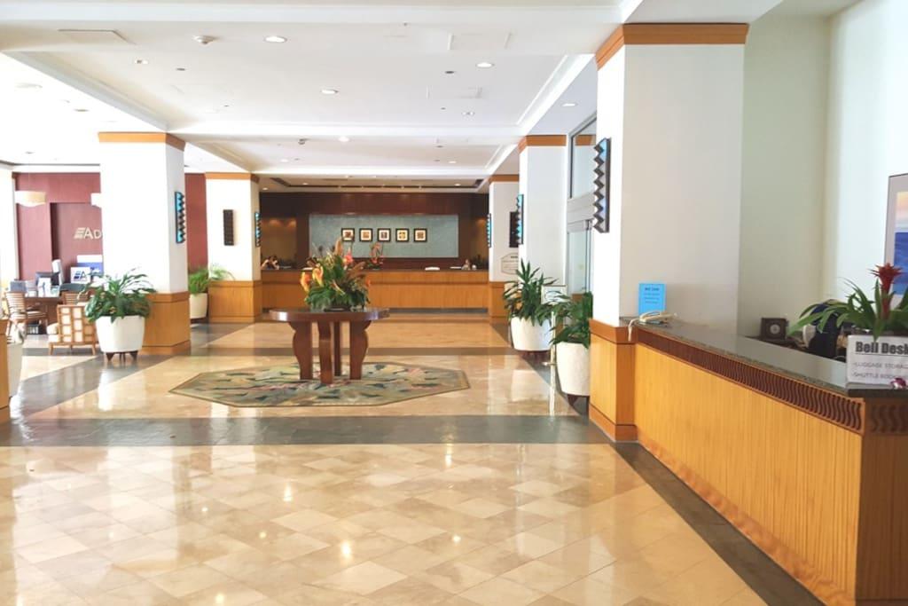 Ilikai Hotel Lobby