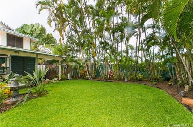 Manono St Kailua House - Yard