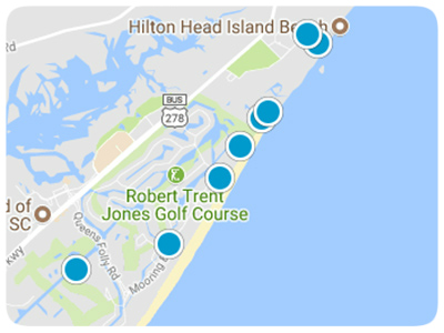 Hilton Head Real Estate Map Search