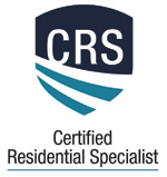 Certified Residential Specialist Logo. CRS.