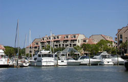 View of Shelter Cove Yacht Basin