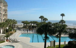 Swimming Pool at the Oceanfront Condos at Villamare in Hilton Head, SC