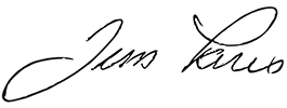 Jim Paris Signature