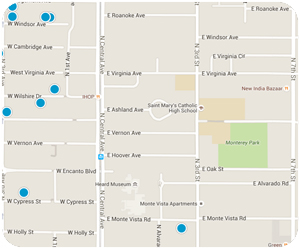 Ashland Place Interactive Map Search