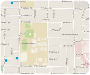 Campus Vista Interactive Map Search