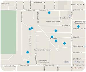 Cheery Lynn Interactive Map Search