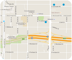 East Evergreen Interactive Map Search