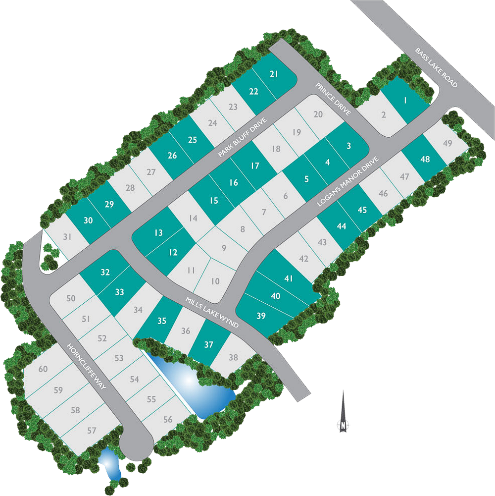 Logans Manor Holly Springs Site Plan