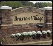 Braxton Village sign
