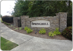 Springhill Entrance