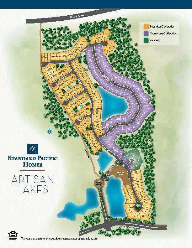 Artisan Home Tour  Map