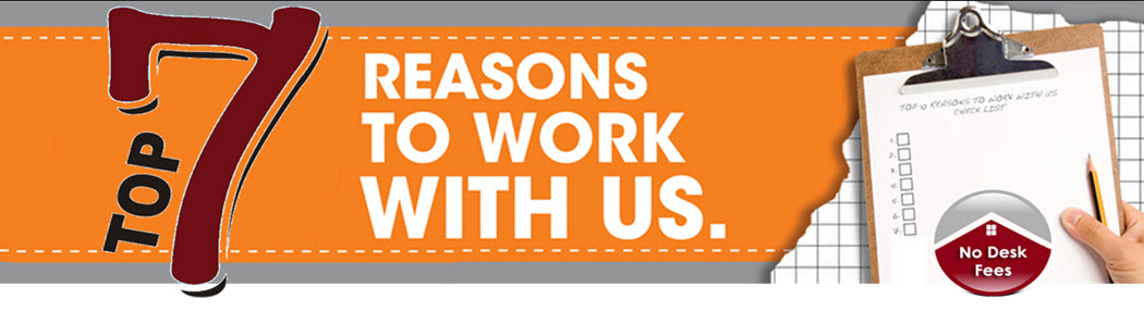7 Reasons to work with us