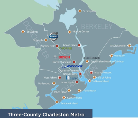 Three-County Charleston Metro