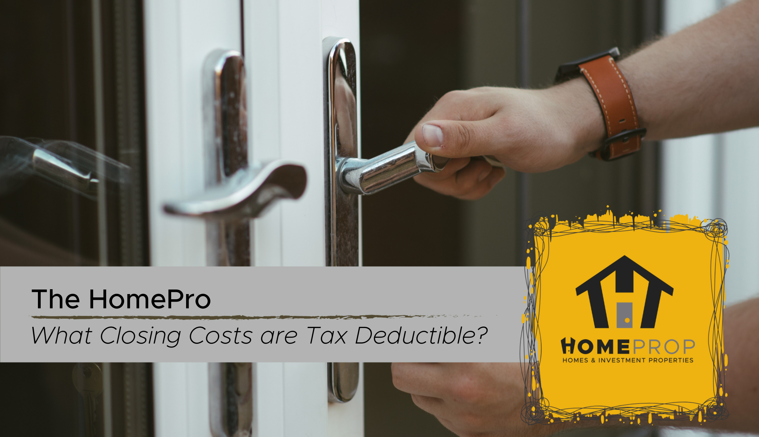 Tax Deductions for Homeowners in 2019