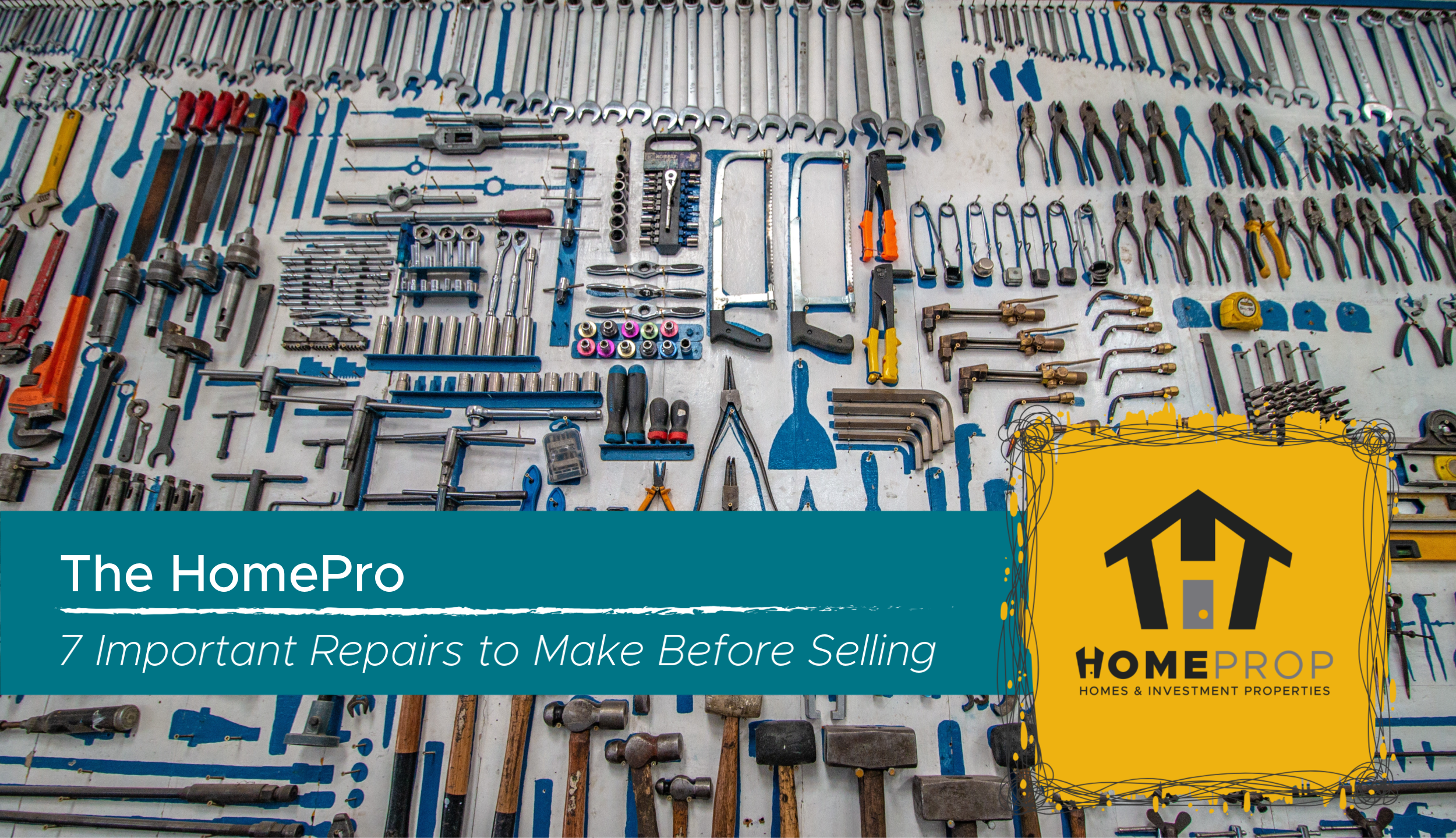 7 Important Repairs to Make Before Selling A Home