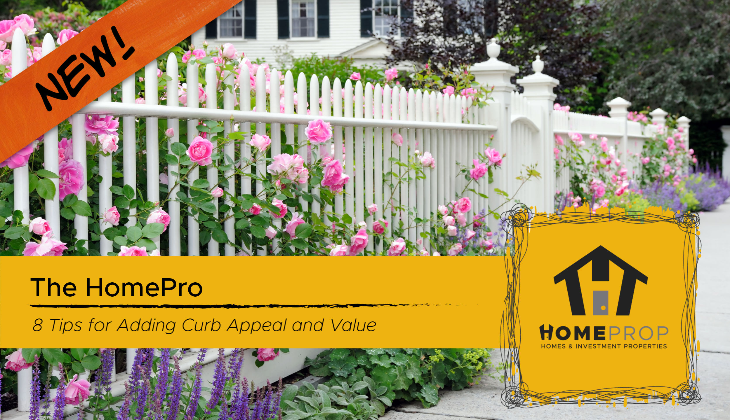 8 Tips for Adding Curb Appeal and Value