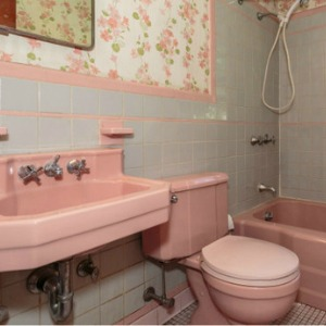 Home Fail - Pink Bathroom