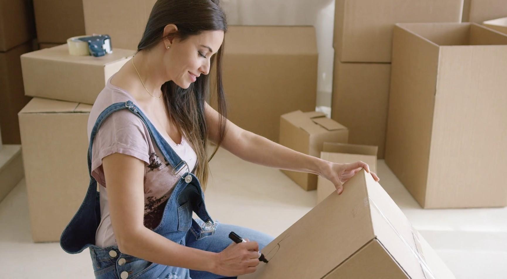 Female packing box