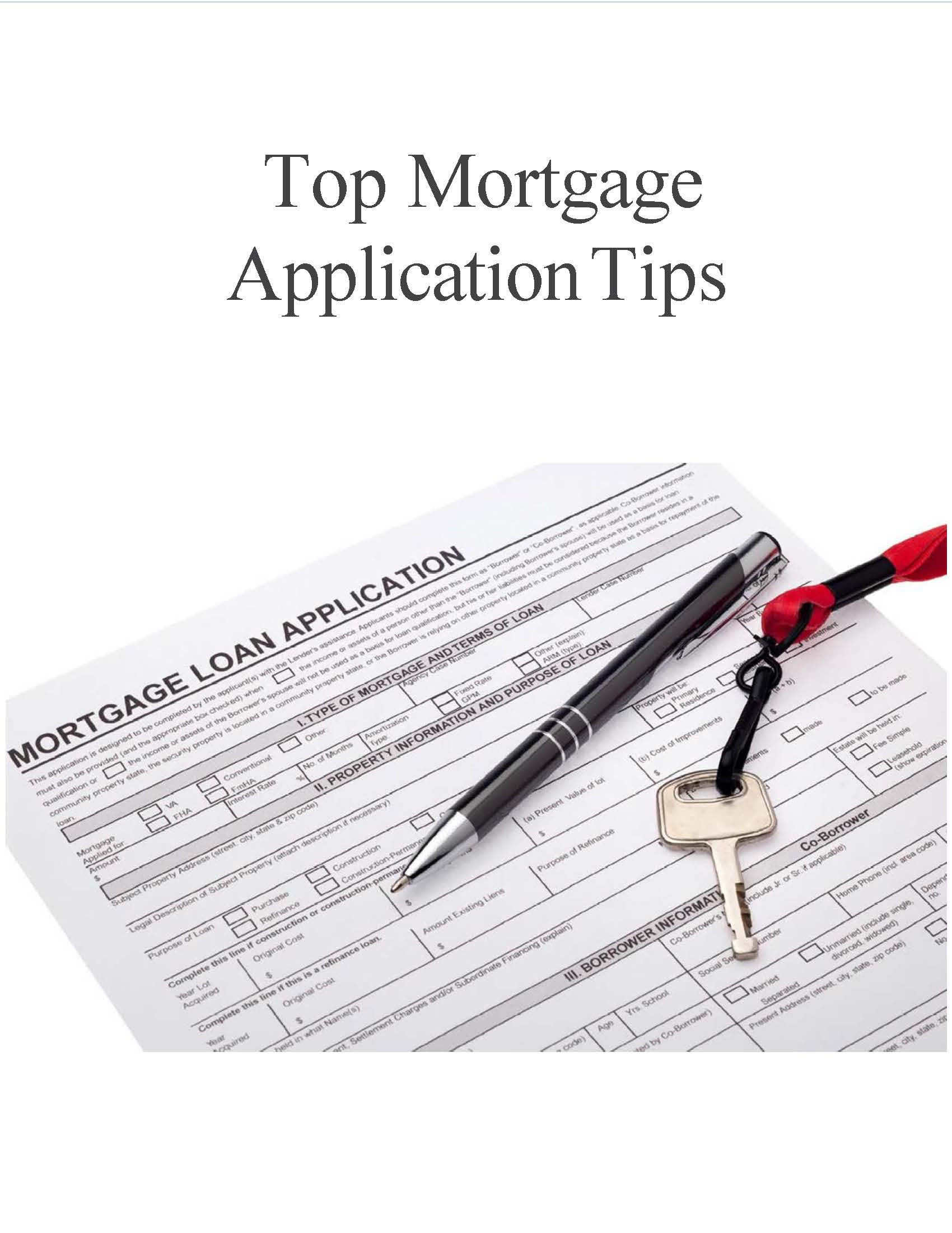 VA Loan Application