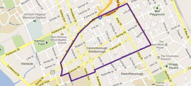 Cannonborough-Elliottborough District Charleston, South Carolina