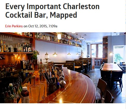 Best Cocktail Bars in Charleton, SC