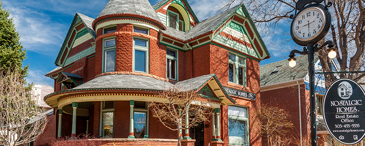 Victorian Homes for Sale in Denver Colorado