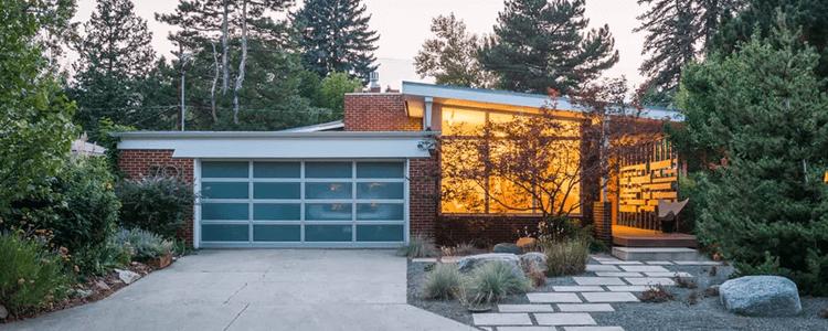 Mid-century modern homes for sale Denver CO