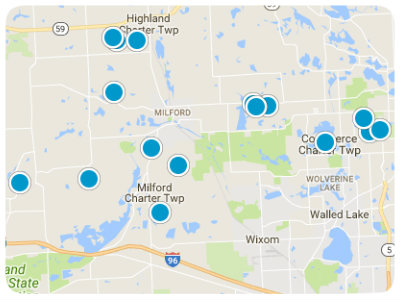 Greater Detroit Real Estate Map Search