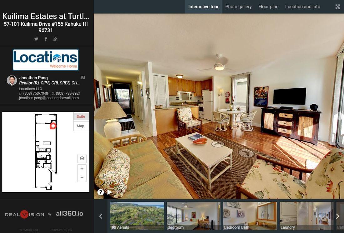 Virtual 3D Tour Hawaii Real Estate