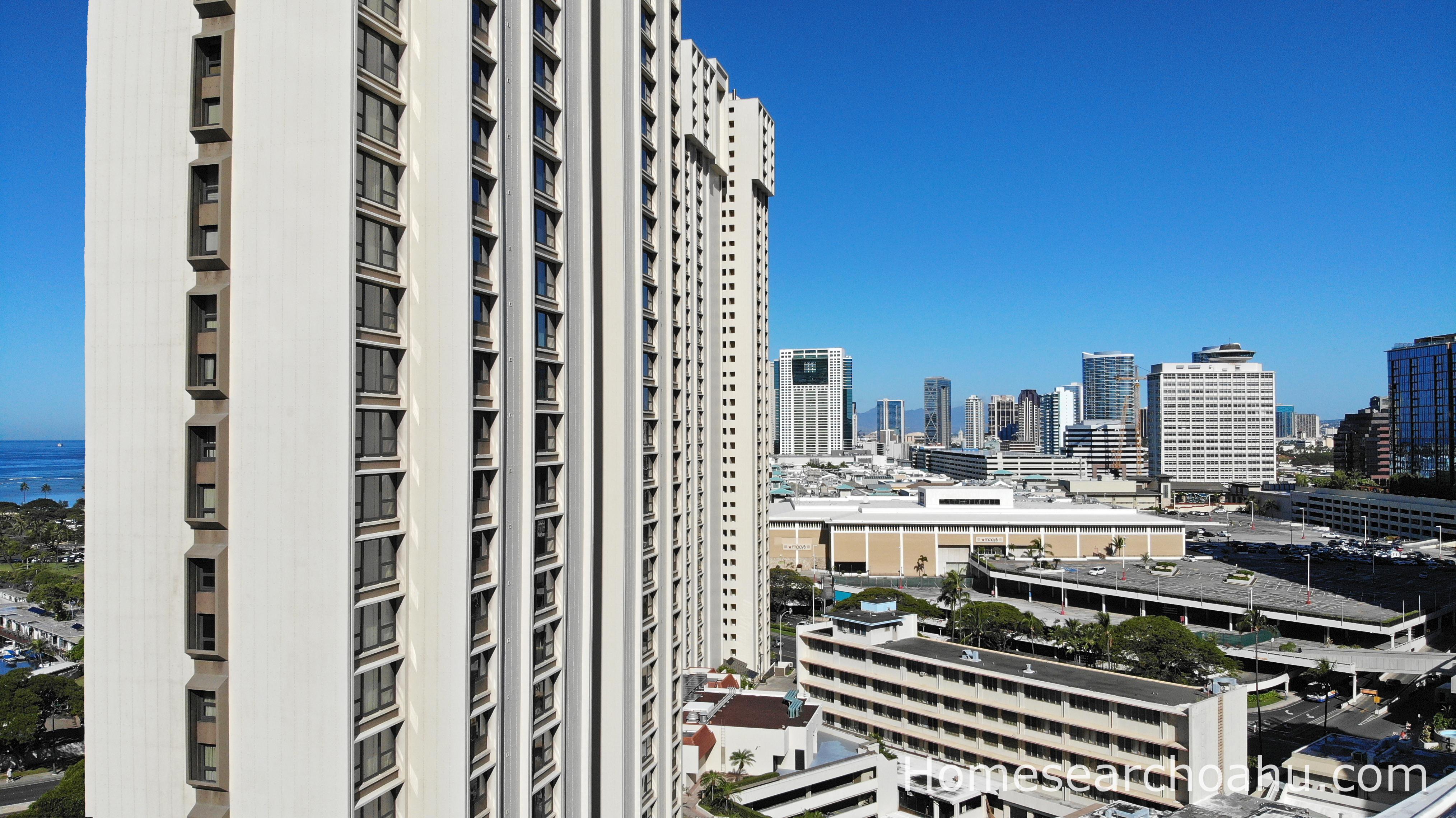 Atkinson Towers Views right facing