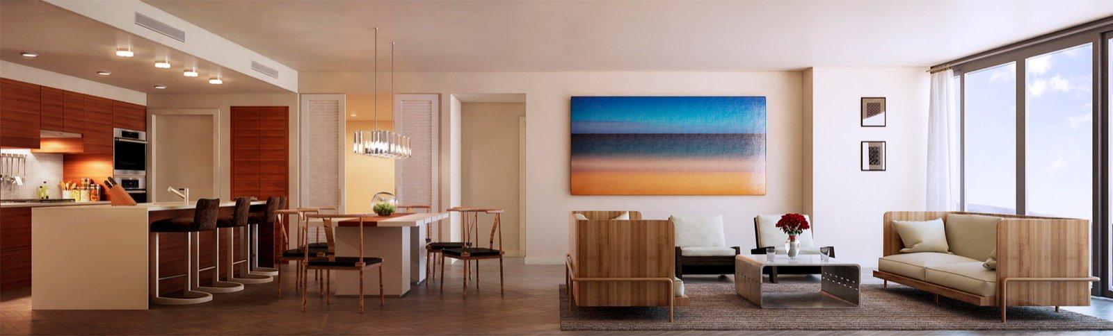 Anaha Living/Dining Room
