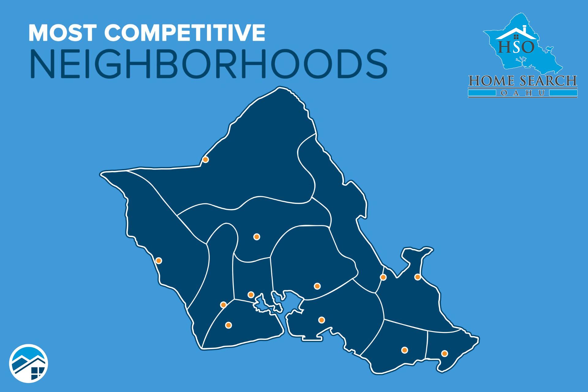 The Most Competitive Neighborhoods on Oahu