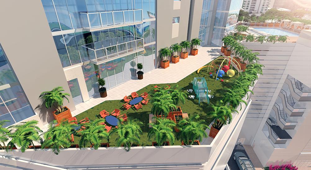 Hawaii City Plaza Amenity Area
