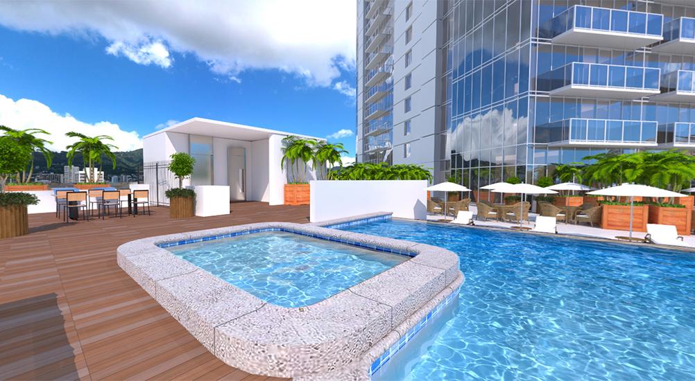 Azure Ala Moana Pool Area