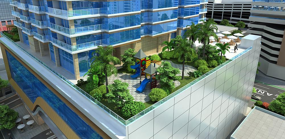 Hawaii Ocean Plaza Amenity Area