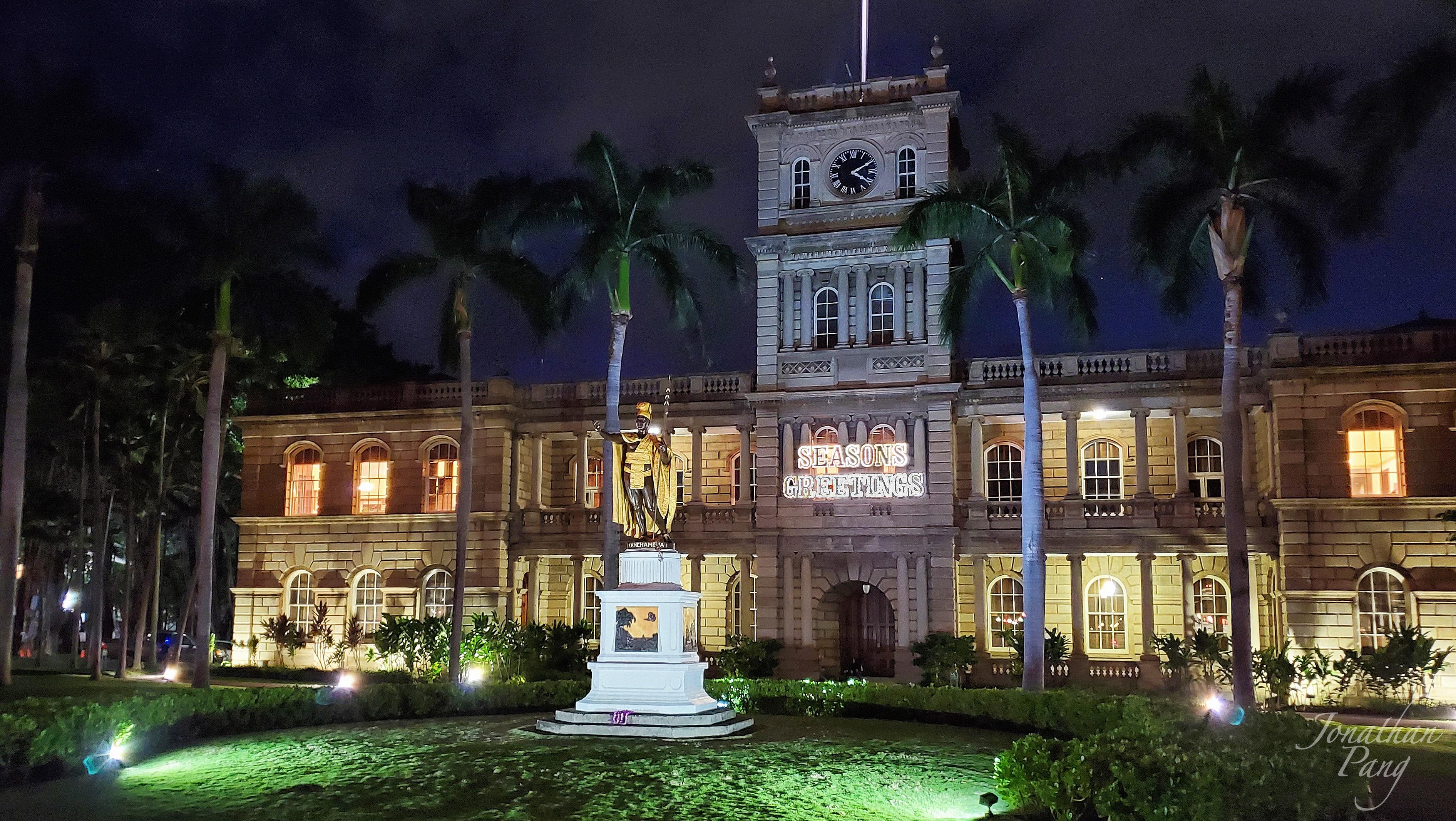 King Kamehameha Seasons Greetings