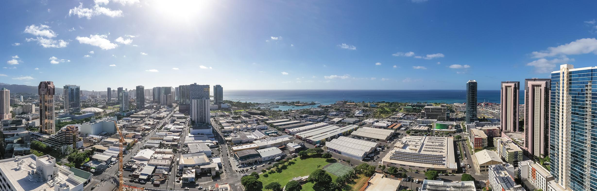 Diamond Head/Ocean View 38th Floor View