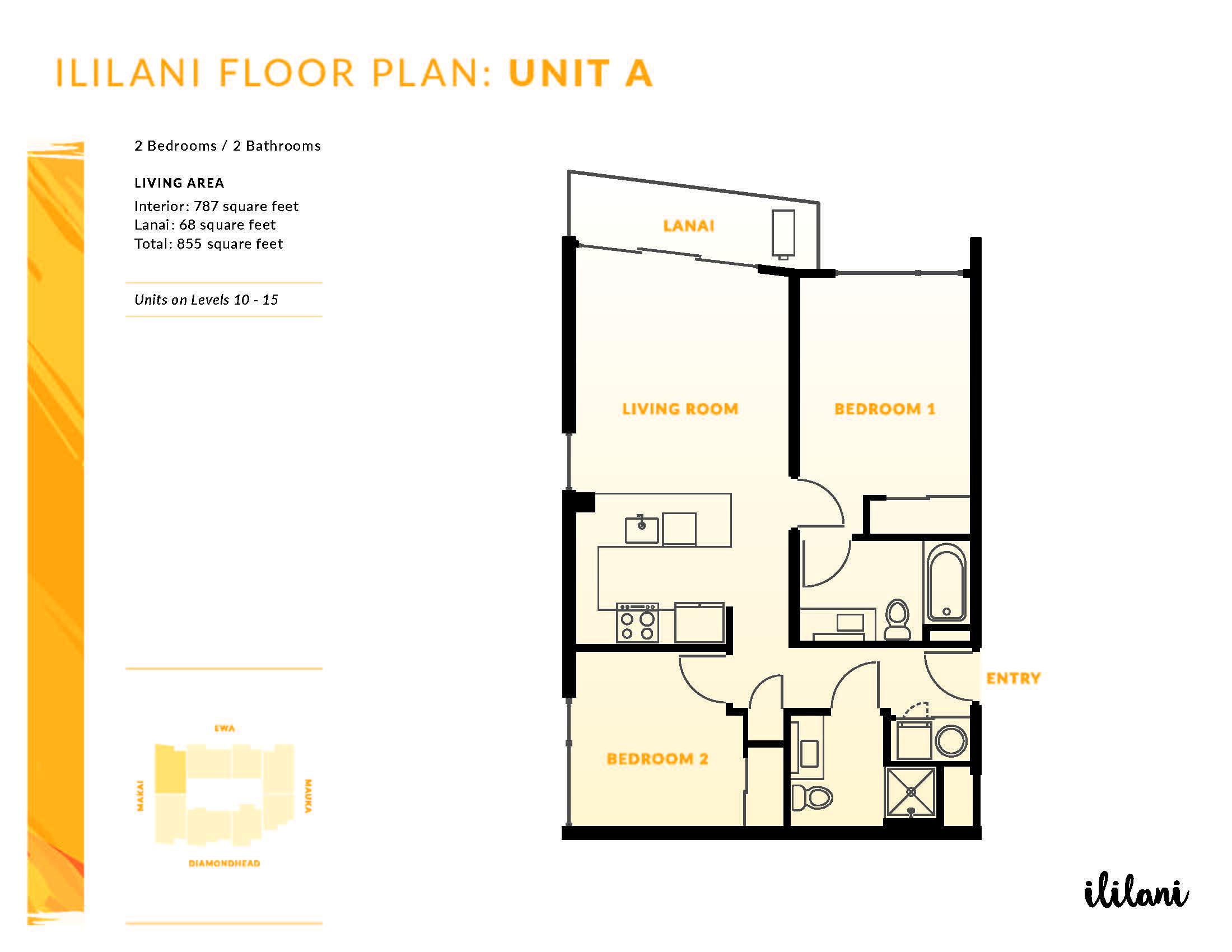Ililani Floor Plan A
