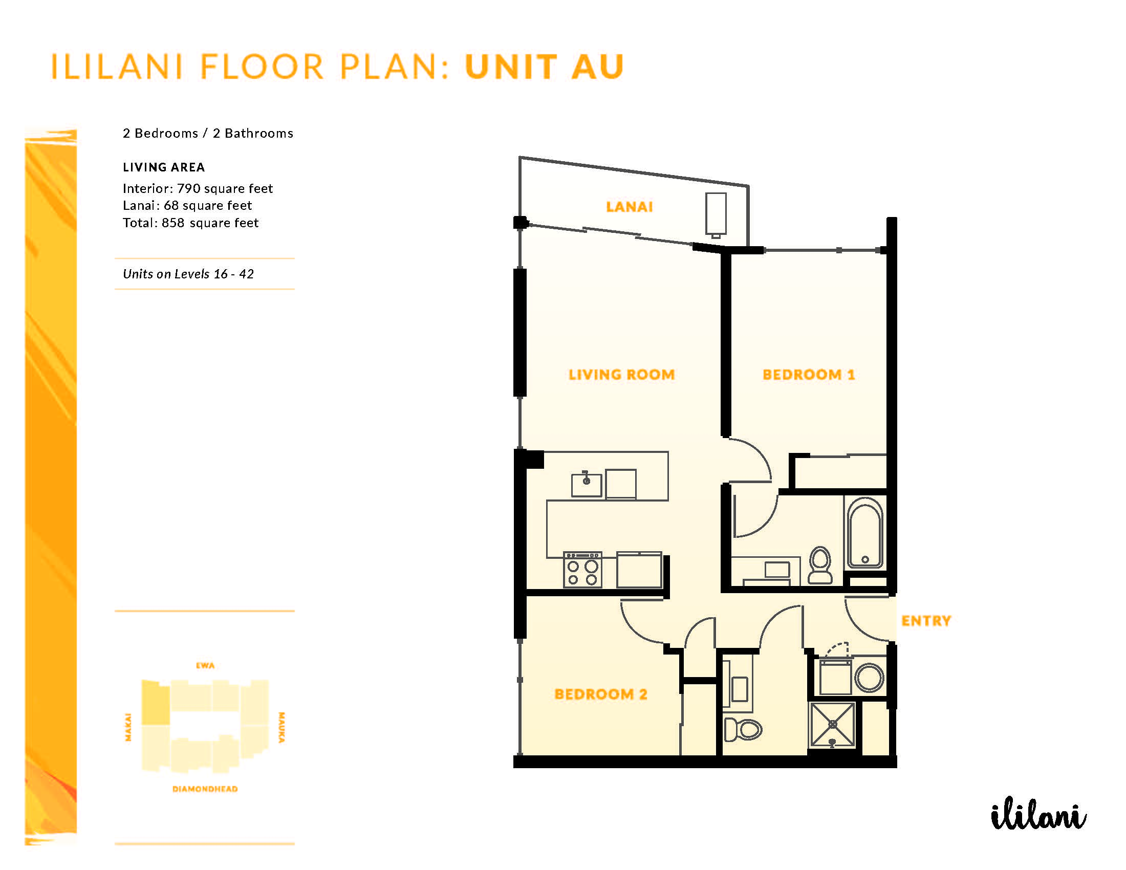 Ililani Floor Plan AU