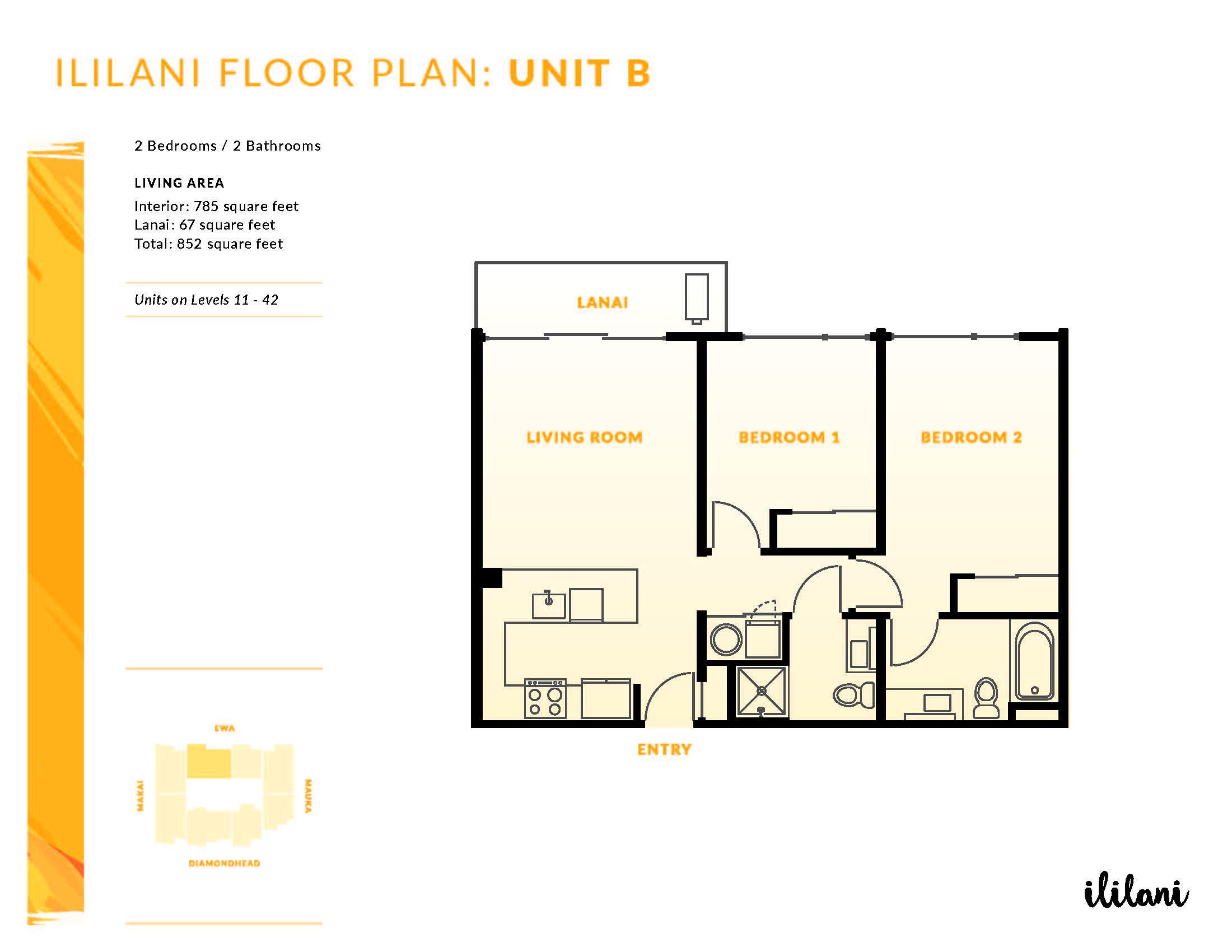 Ililani Floor Plan B