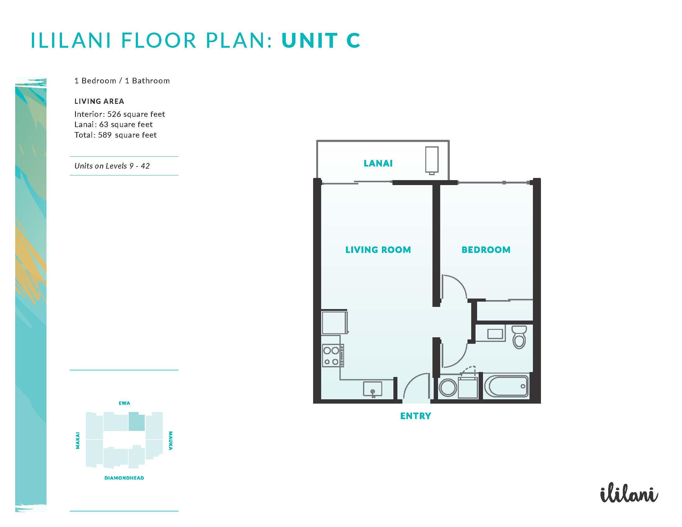 Ililani Floor Plan C