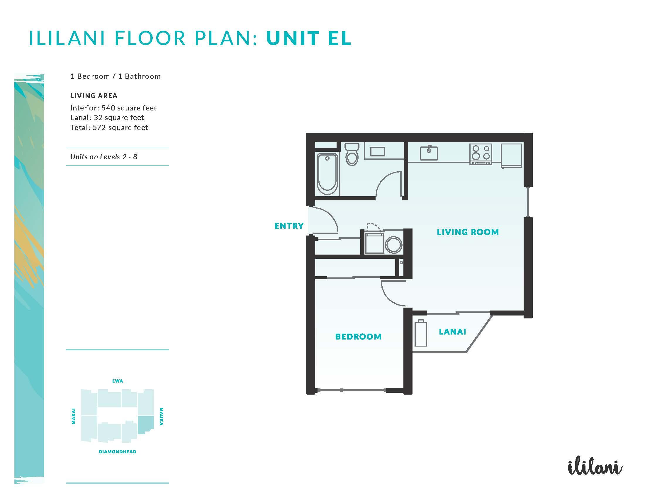 Ililani Floor Plan EL