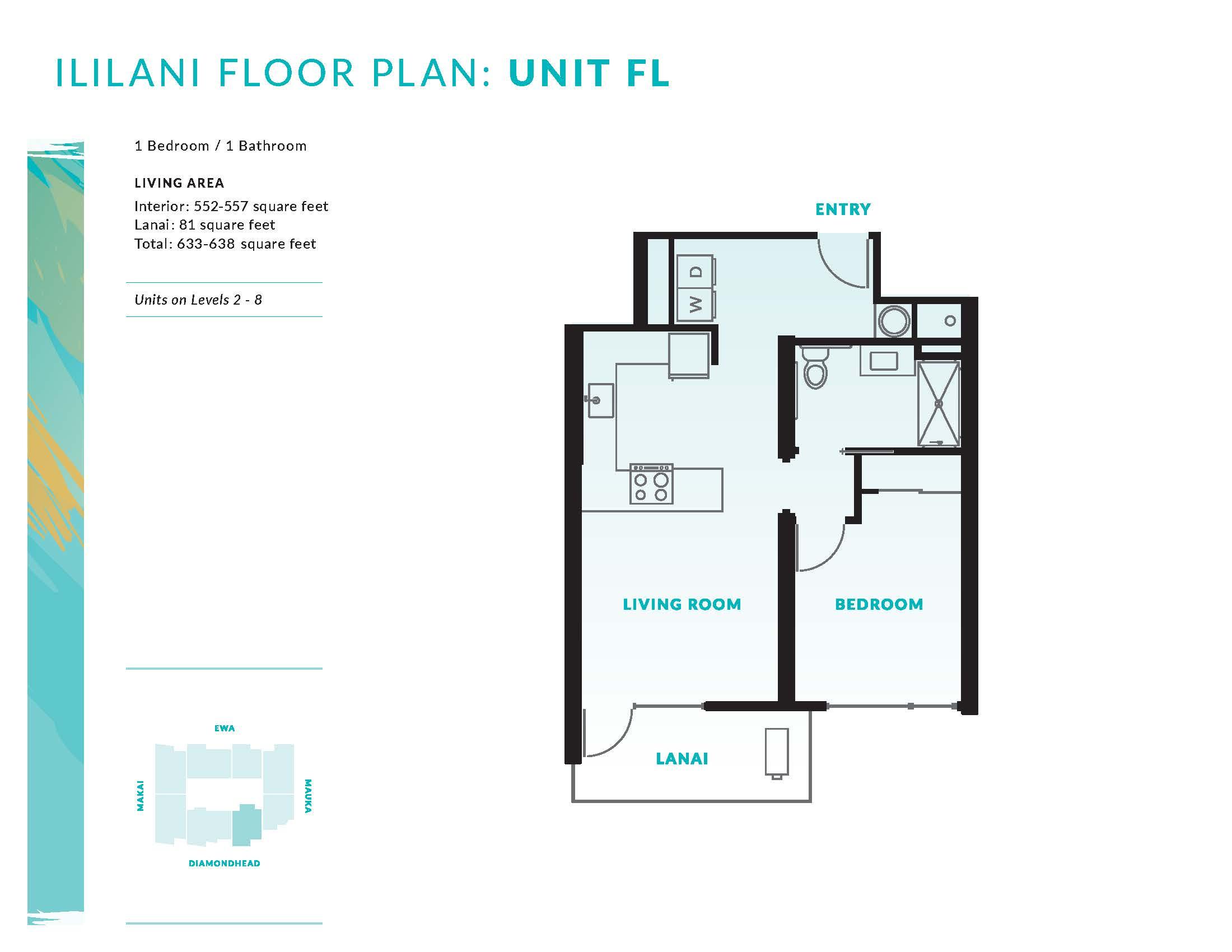 Ililani Floor Plan FL