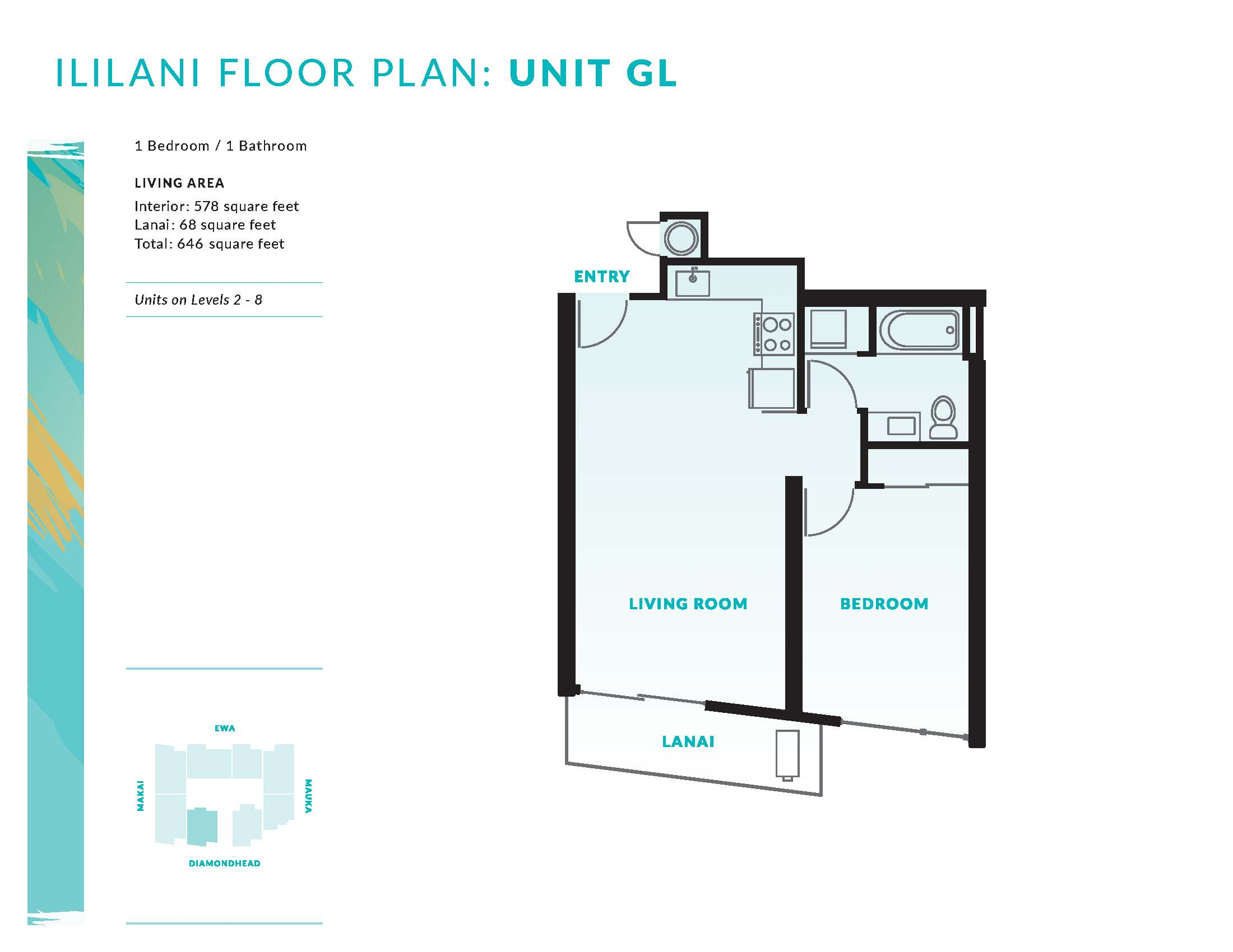 Ililani Floor Plan GL