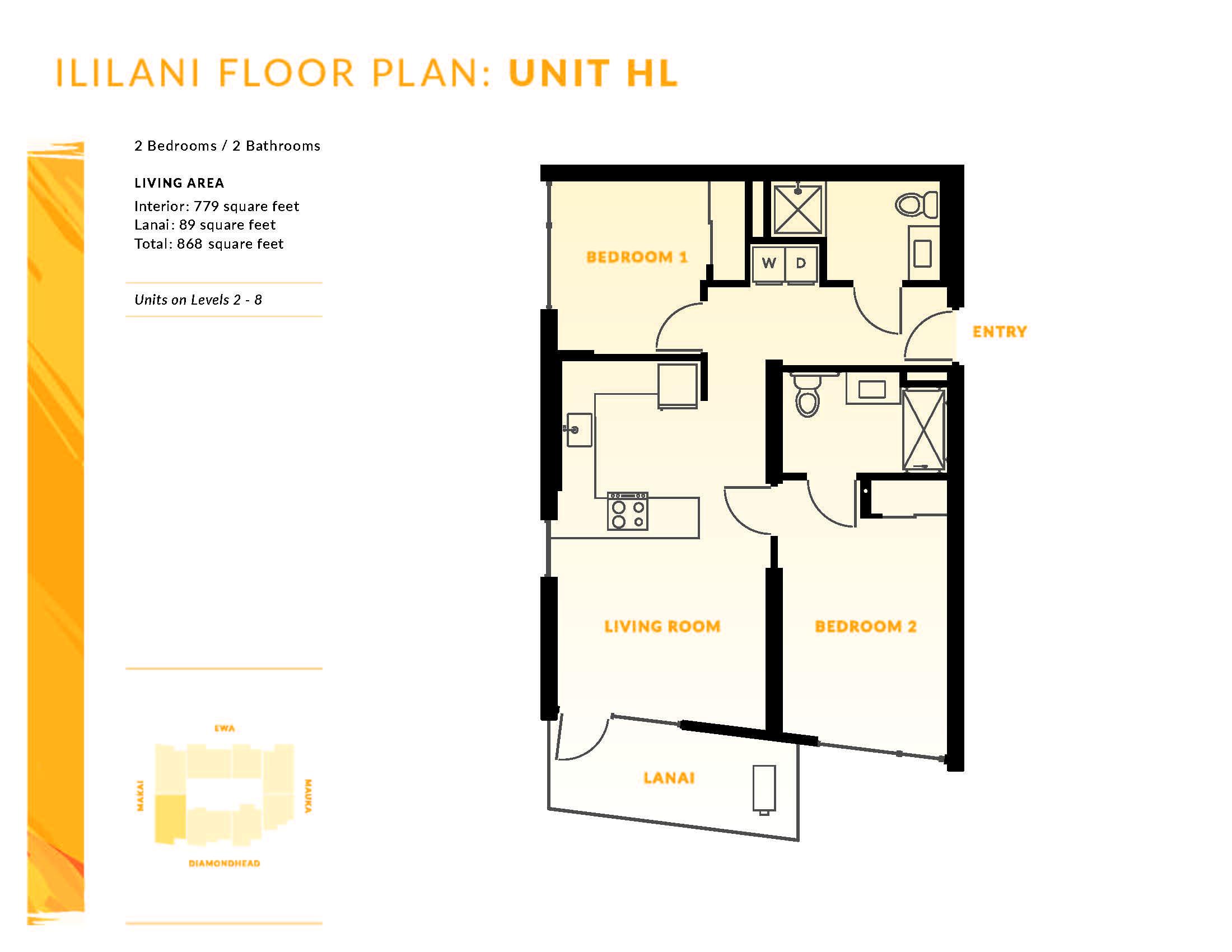 Ililani Floor Plan HL
