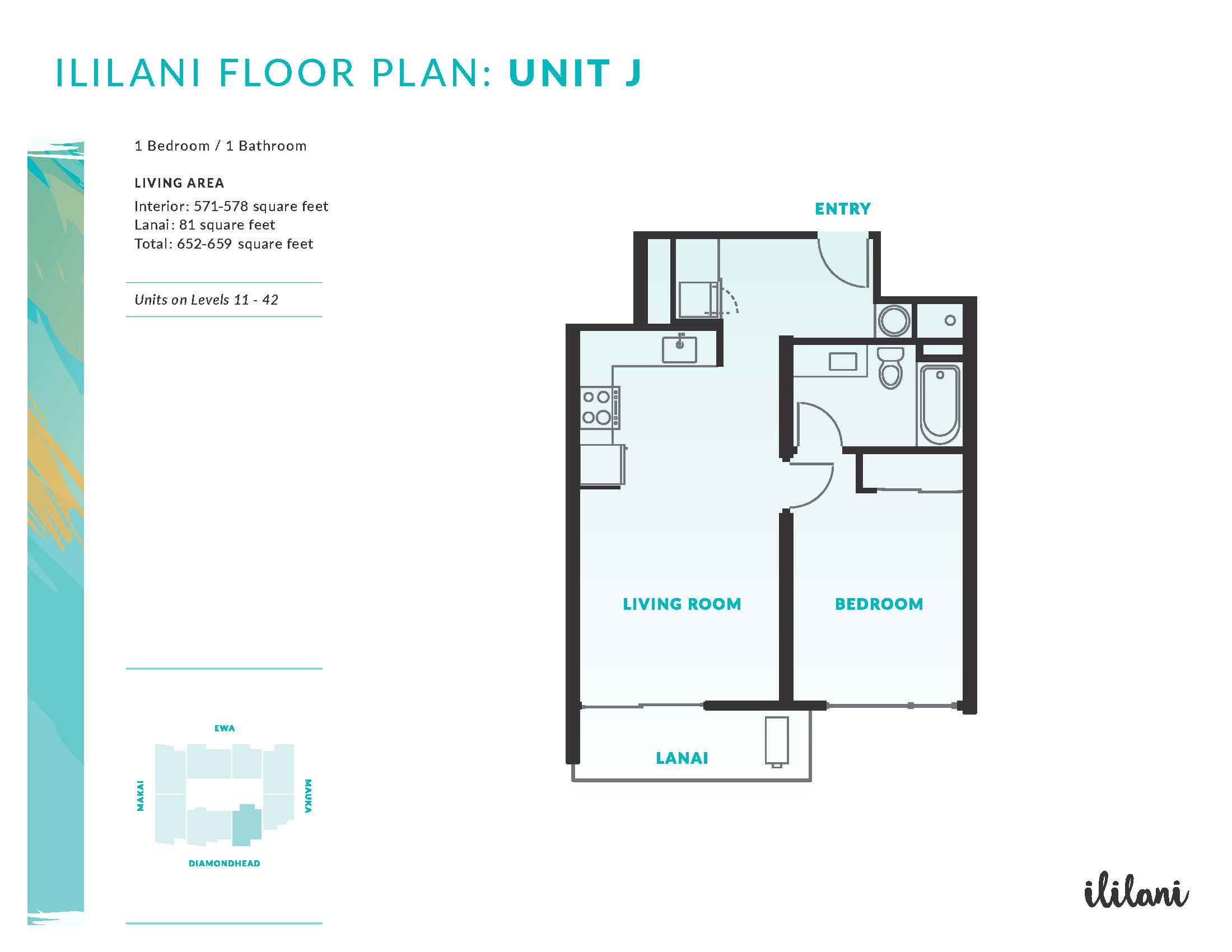 Ililani Floor Plan J