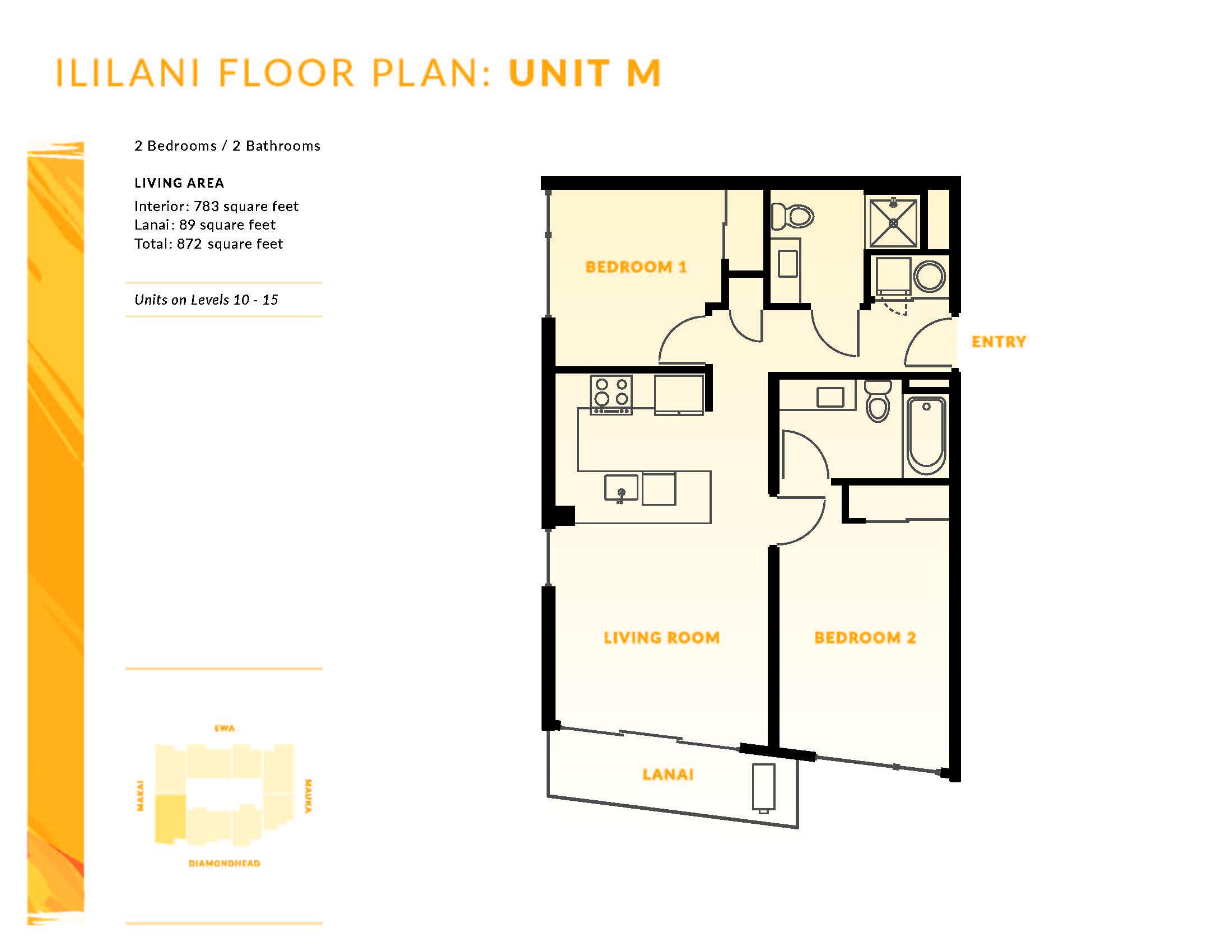 Ililani Floor Plan M