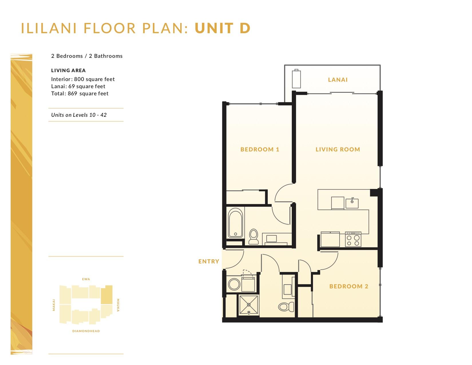 Ililani Floor Plan D