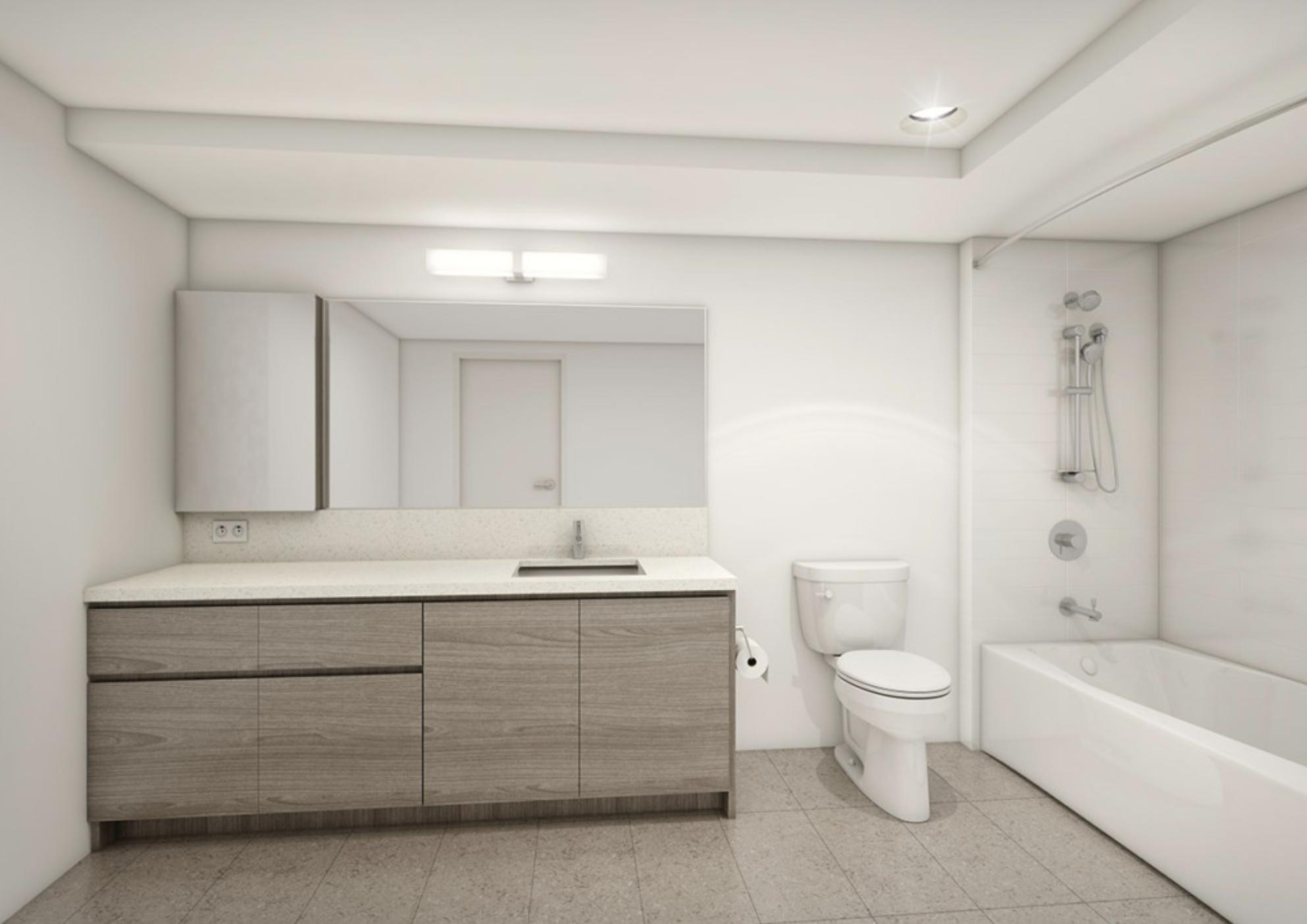 Kapiolani Residence Bathroom