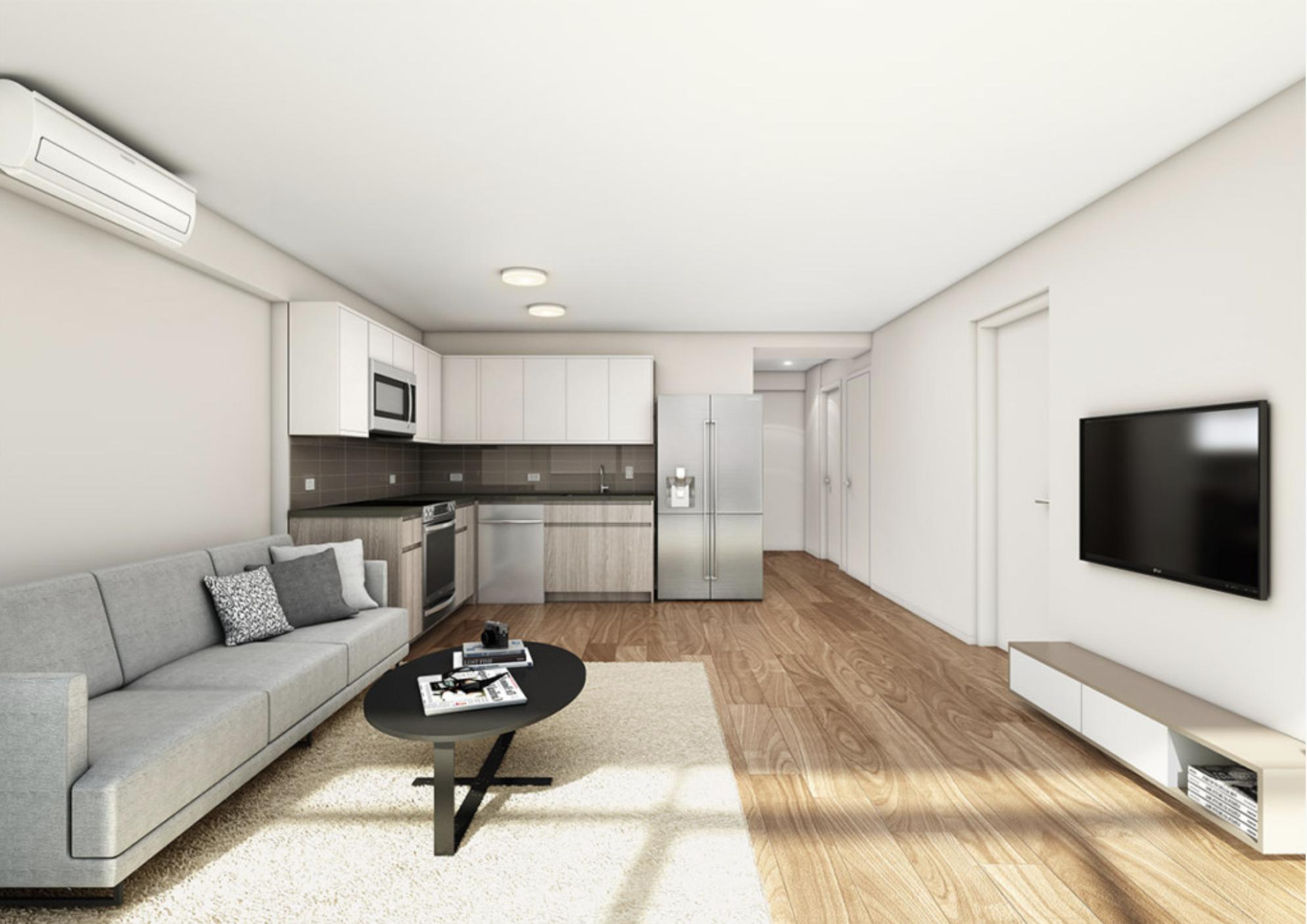 Kapiolani Residence Living Room